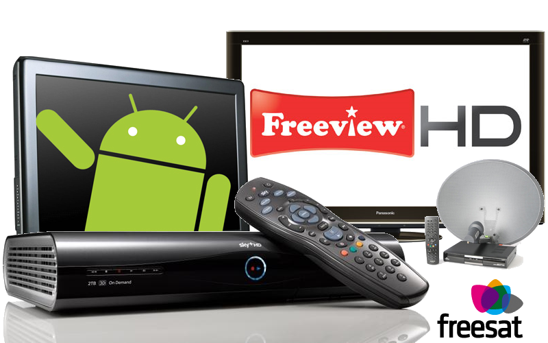 Sky, Freeview, Freesat and Android TV Install & Repairs in Wigton
